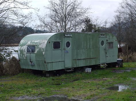 trailer houses old trailer home kknox55 flickr