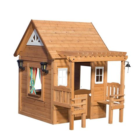 backyard discovery cascade cedar playhouse 1606319com