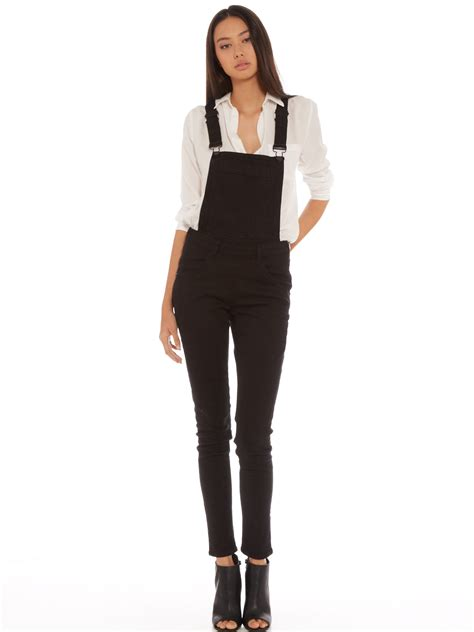 Overall Black black overall pant so
