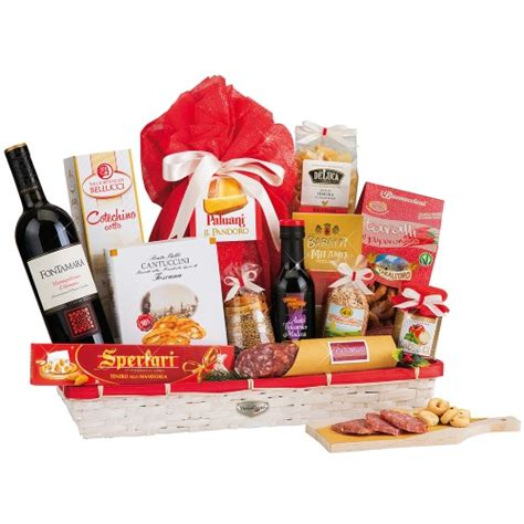 Send Christmas Gourmet Gift Baskets to Italy   Ital Florist Gift Baskets Delivered Today
