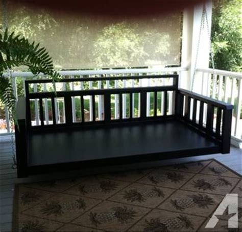 twin bed size porch swing twin size porch swing bed for sale in cordele georgia