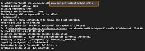 tutorial linux bridge how to setup bridge br0 network on ubuntu linux 14 04