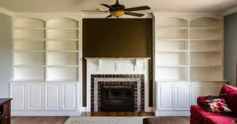 Built In Bookcase Around Fireplace Built Ins Around Fireplace
