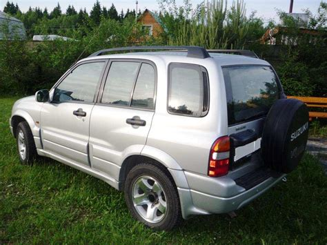 Suzuki Grand Vitara 2000 2000 Suzuki Grand Vitara For Sale 2495cc Gasoline