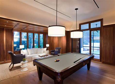 family room table pool table room decor family room transitional with bar