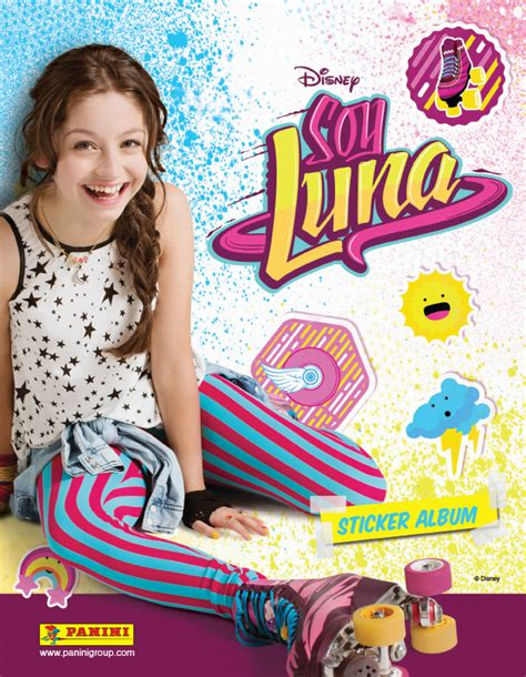 soi luna sticker album quot soy luna quot disney panini on behance