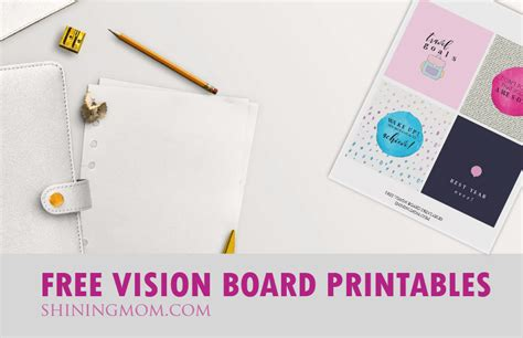 Magna Vision Cards Template by Vision Board Free Printables