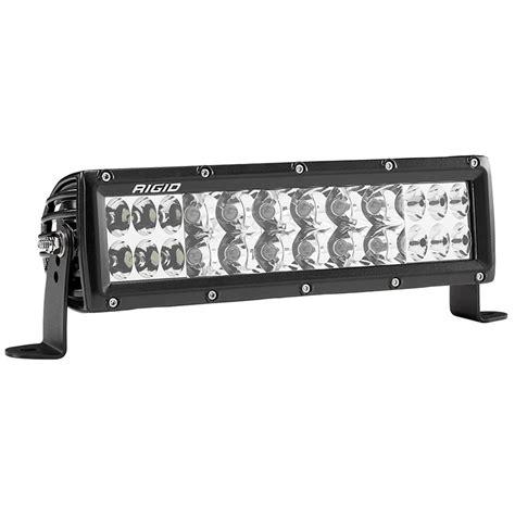 Rigid 10 Led Light Bar Rigid Industries 10 Quot E2 Series Pro Led Light Bar White Combo 178313