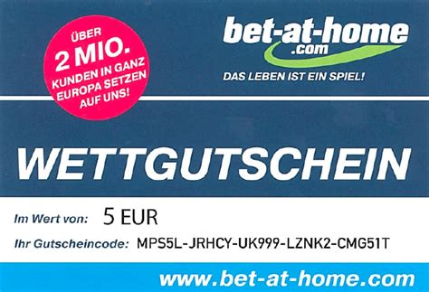 bet at home gutschein code 2012