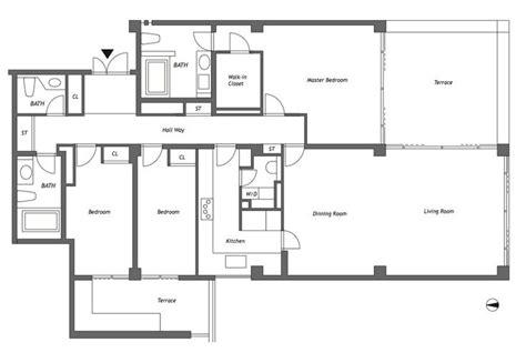 Tadao Ando Floor Plans | japan property central 187 tadao ando designed apartments