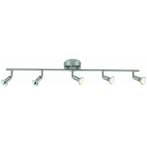 tp24 5015 ip44 5 led satin silver ceiling