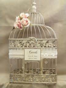 wedding birdcage card holder on sale wedding card box chagne birdcage pearls
