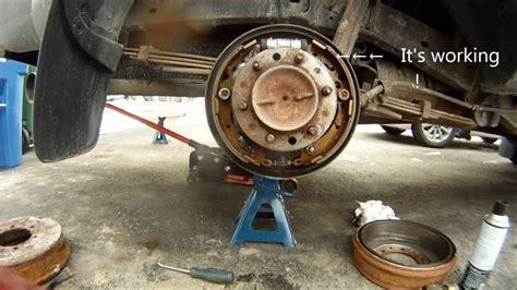 repair anti lock braking 2007 toyota tacoma parking system how to fix parking brake toyota youtube
