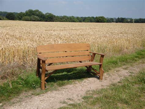 oak memorial benches memorial benches rustic oak bench 1700