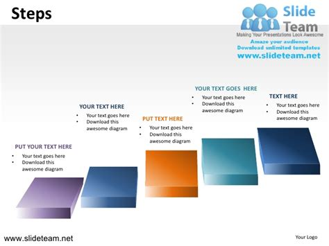 powerpoint template presentation steps ladder climbing powerpoint ppt slides