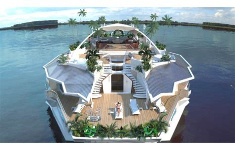 floating boat island orsos the moveable floating island 171 twistedsifter