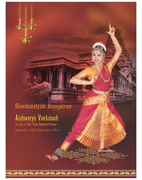 Arangetram Brochure Darshanadesigns Templates On Bharatanatyam Invitation Designs I Yourweek Arangetram Brochure Templates
