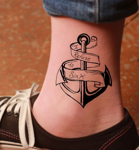 famous tattoo design 45 awesome anchor designs collections