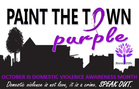 paint the town purple county health council