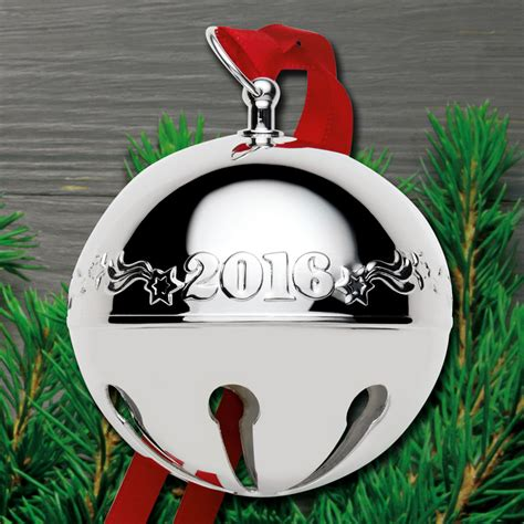 wallace silver bell 2018 2016 wallace sleigh bell 46th edition silverplate ornament sterling collectables