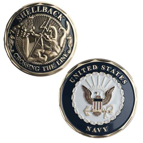 challenge coin navy us navy shellback challenge coin navy challenge coin