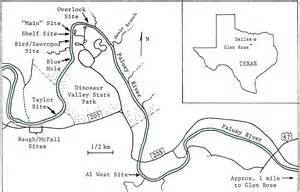 Dinosaur Valley State Park Map by Paluxy Overview Map 1