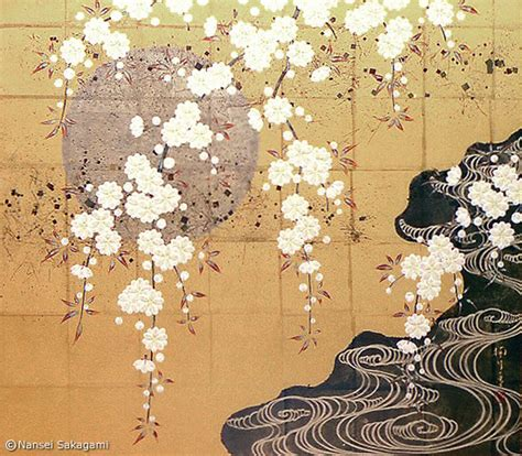 Cherry Blossoms by Masterpiece Of Yamato E Paintings