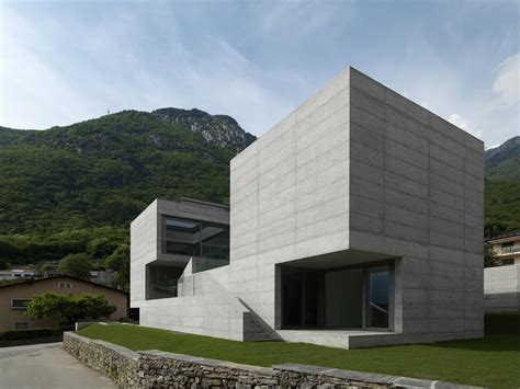 Concrete House Designs by Monolithic Elemental Concrete Modern House Design