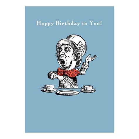 Mad Hatter Birthday Card