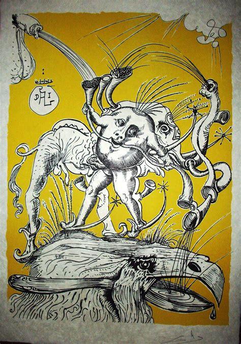imagenes figurativas de salvador dali salvador dali quot les songes drolatiques de pantagruel