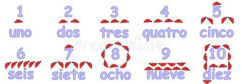 espagnol enfant compter en nombres espagnols pour des enfants photographie stock image 18257202