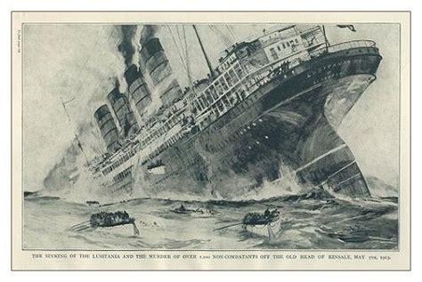 ww1 sinking of the lusitania le quot lusitania quot