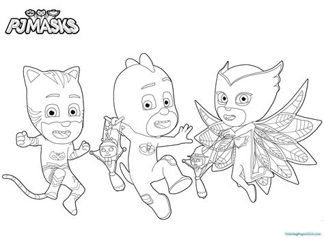 pj masks coloring pages black and white pj masks coloring pages 105 coloring pages for kids