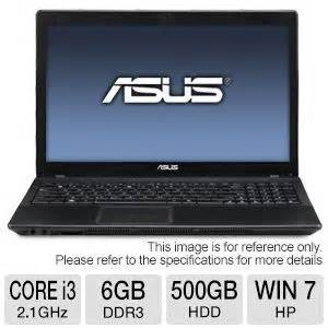 Second Laptop Asus A450c I3 asus x54c laptop computer 2nd generation intel i3 2310m 2 1ghz 6gb ddr3 500gb hdd