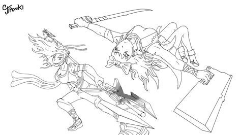 rwby coloring pages coloring pages