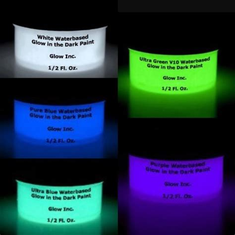 glow in the paint glow inc water based glow in the sle pack glow inc