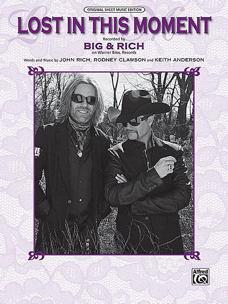 big n rich lost in this moment sheet music big rich lost in this moment piano