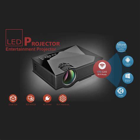 Proyektor Unic Uc46 unic uc46 lcd proyektor 800 x 480 alim 800 lumen eu hitam lazada indonesia