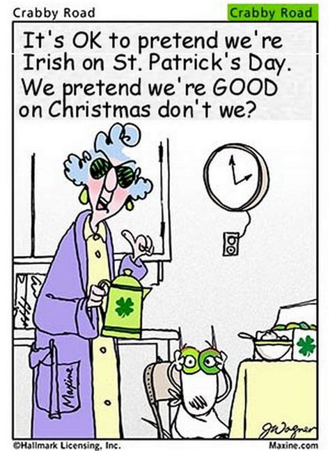 St Silly chuck s page 2 st s day humor