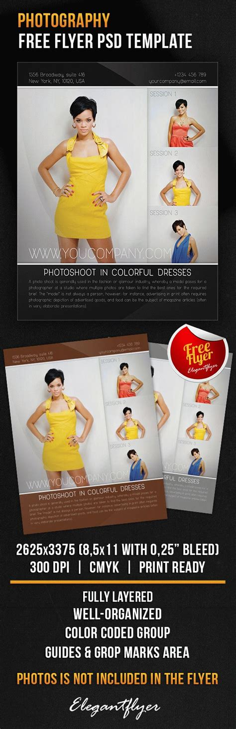 Photography Free Flyer Psd Template By Elegantflyer Photography Flyer Template Psd