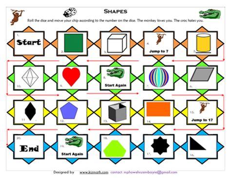 printable board games com teaching materials for esl math education math board
