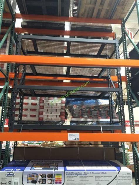 costco industrial shelving costco 566085 edsal industrial rack costcochaser