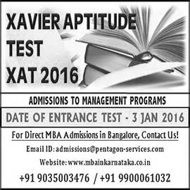 Mba In Technology Management Scope by Xat 2016 Dates Xavier Aptitude Test Application Mba