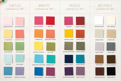 the color of 2017 2017 2018 new catalog color charts are here creativelee