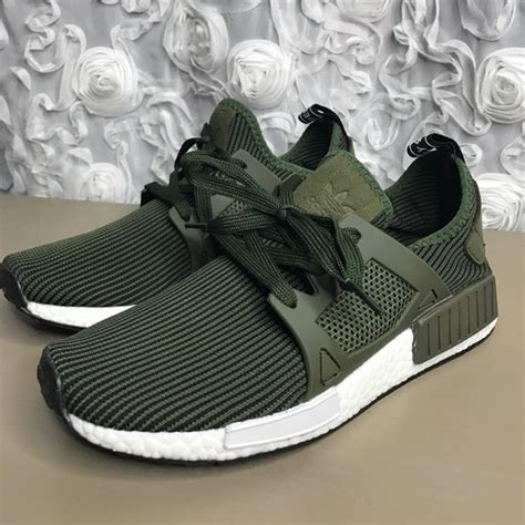 adidas shoes reserved nmd rx olive army green  poshmark