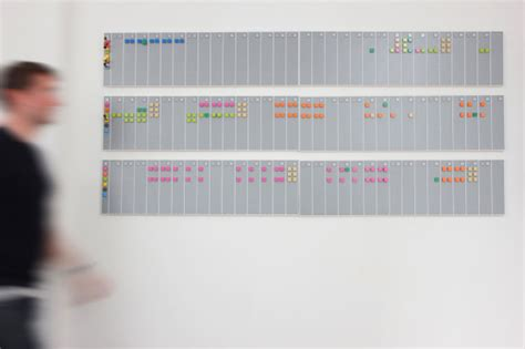 vitamin design lego calendar a wall mounted calendar made from lego bricks design milk