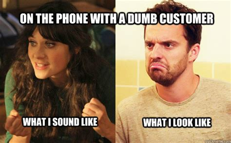 New Girl Memes - new girl with a customer memes quickmeme