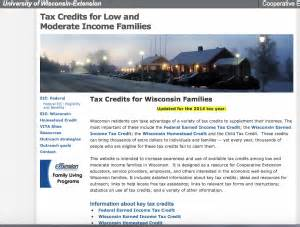 Homestead Credit Form Wisconsin 2015 Homestead Credit News From Cooperative Extension