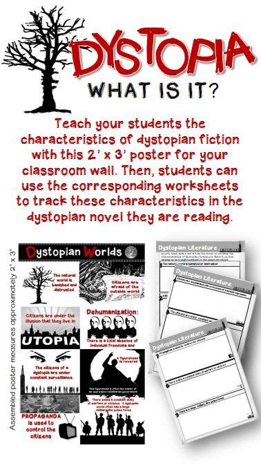 themes dystopian literature 1000 images about dystopia lesson plans on pinterest