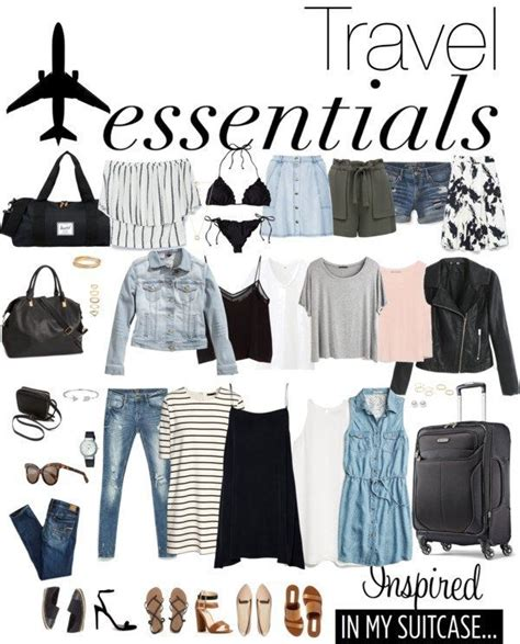 Travel Wardrobe Essentials by 1000 Ideas About Summer Traveling On